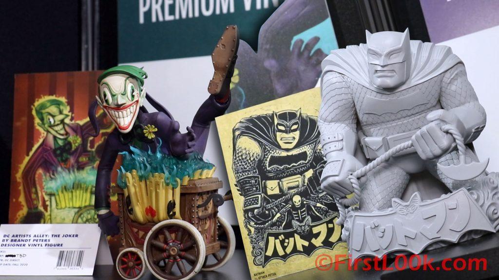 Brandt Peters' Joker & Attack Peter's Batman