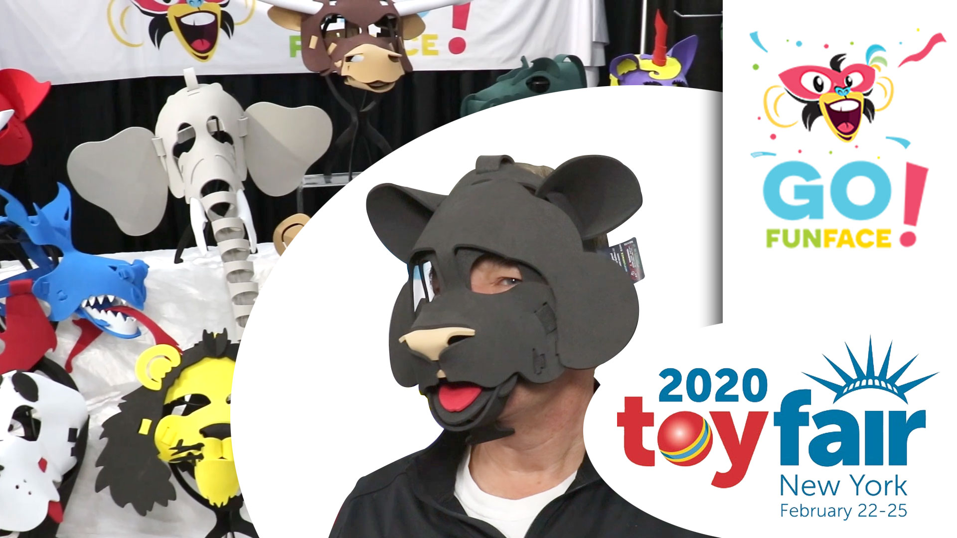 Go Fun Face @ToyFair 2020