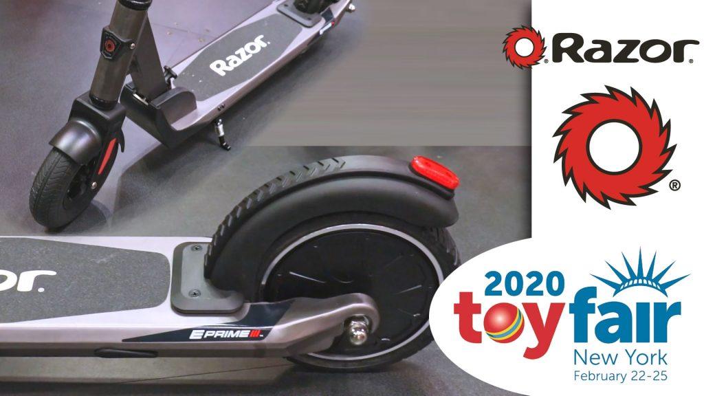 Razor E Prime III @ToyFair 2020
