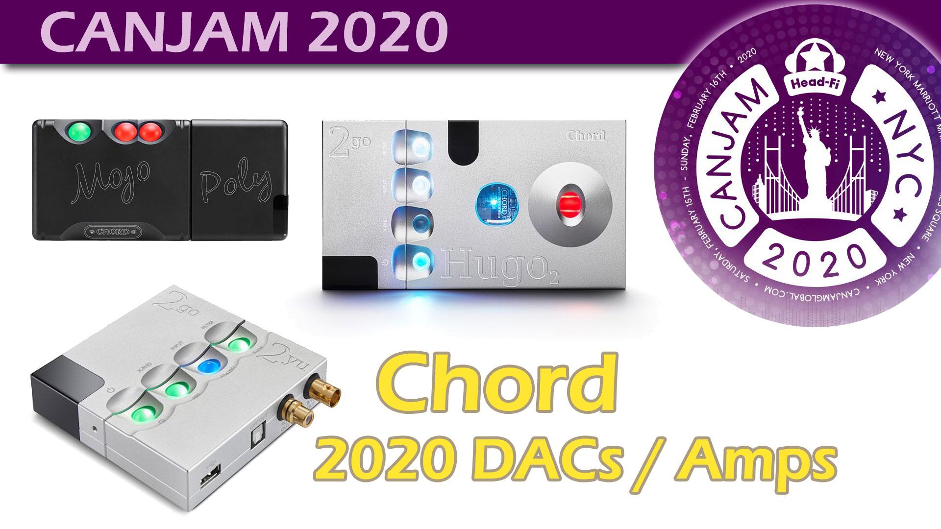 Chord Electronics @CanJam 2020