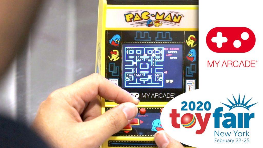 My Arcade at Toy Fair 2020