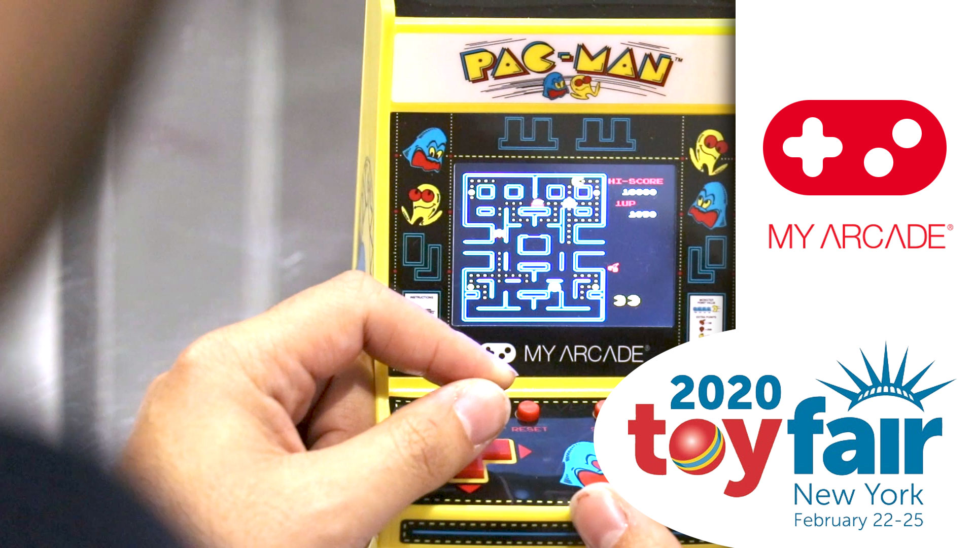 My Arcade at Toy Fair 2020