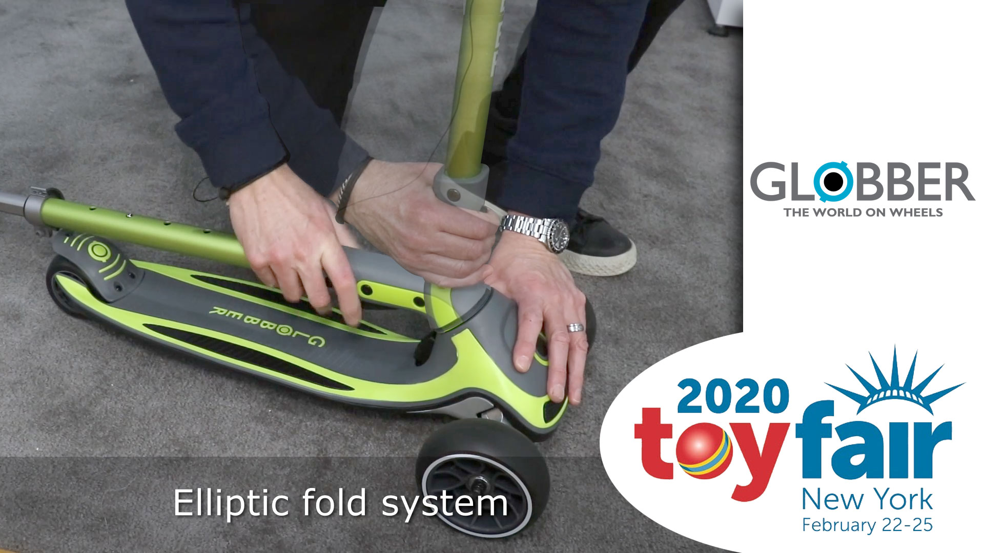 Globber Scooter @ ToyFair 2020