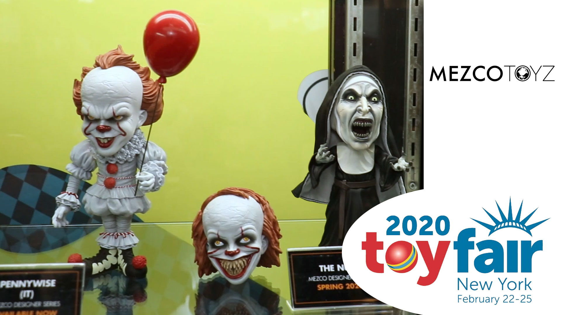 Mezco Toys @ Toy Fair 2020