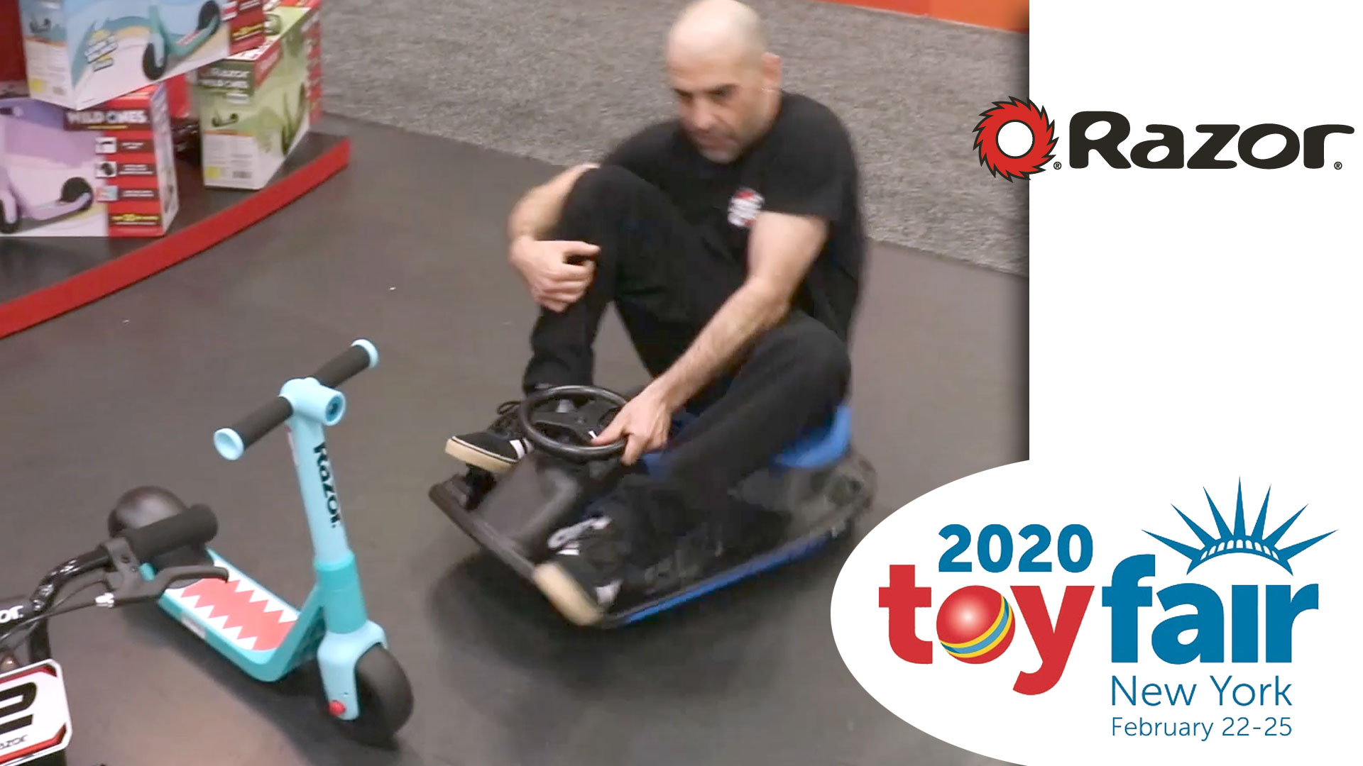 Razor Kids @ Toy Fair 2020