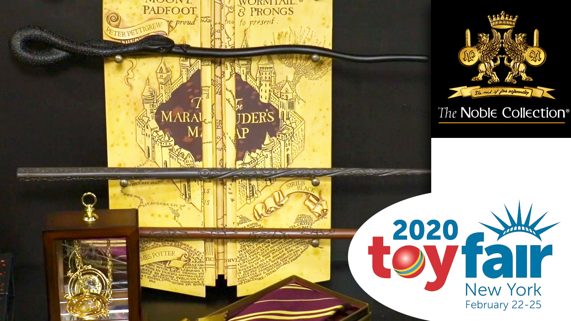 Noble Collection @ Toy Fair 2020