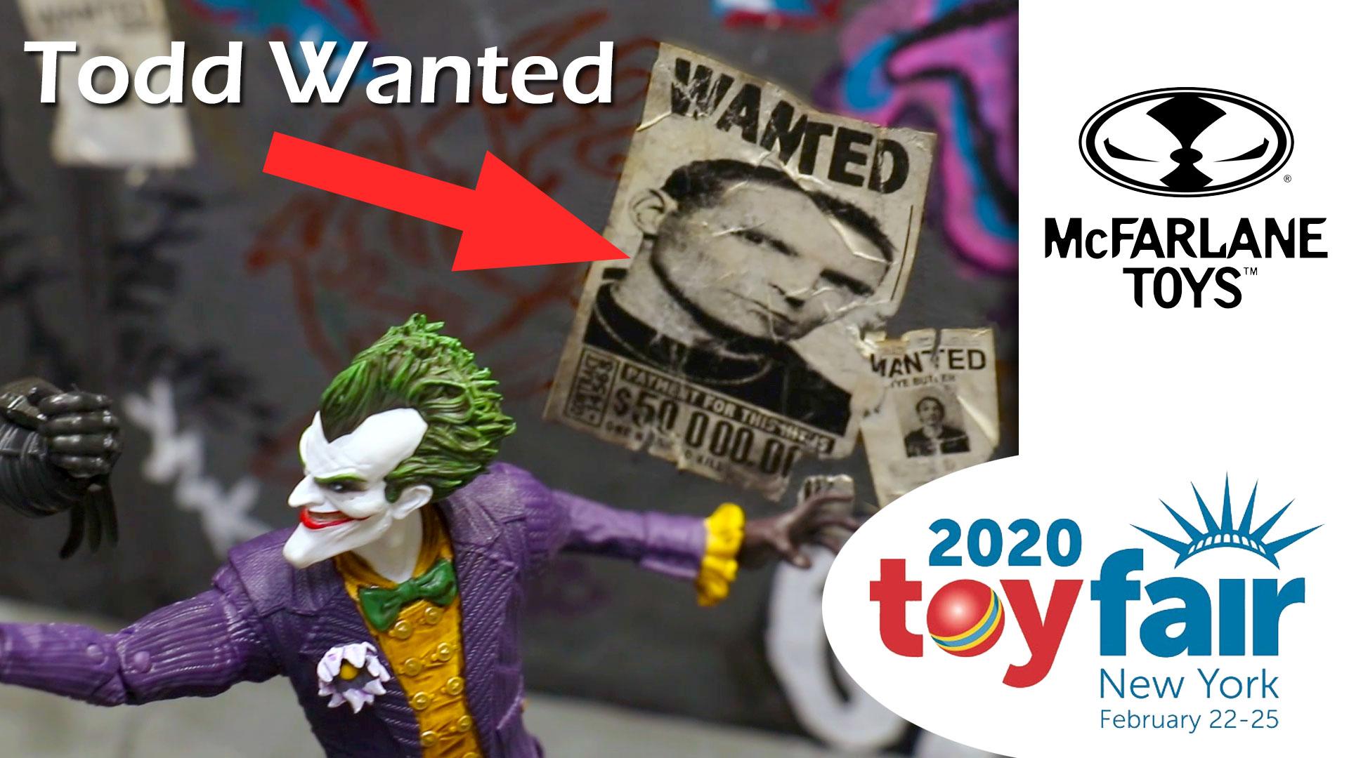 McFarlane Toys Diorama Special @ Toy Fair 2020