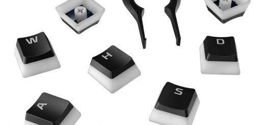 HyperX Pudding Keycaps v2