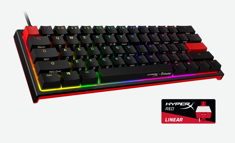 HyperX & Ducky 60% gaming keyboard
