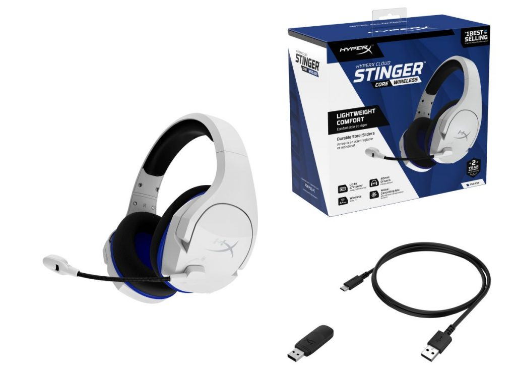 HyperX Cloud Stinger Core Wireless Box Contents