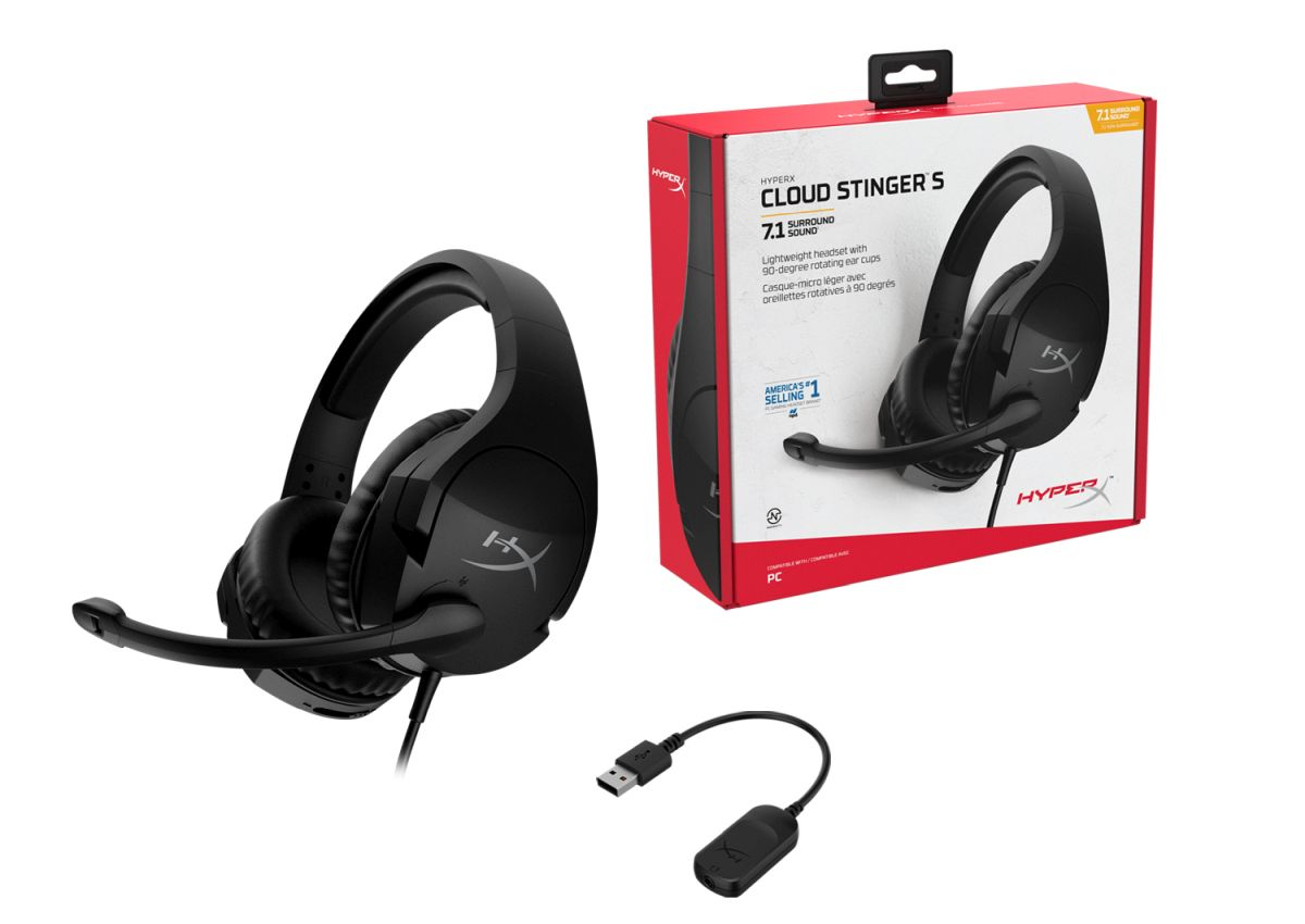 HyperX Cloud Stinger S (7.1 Virtual Surround)