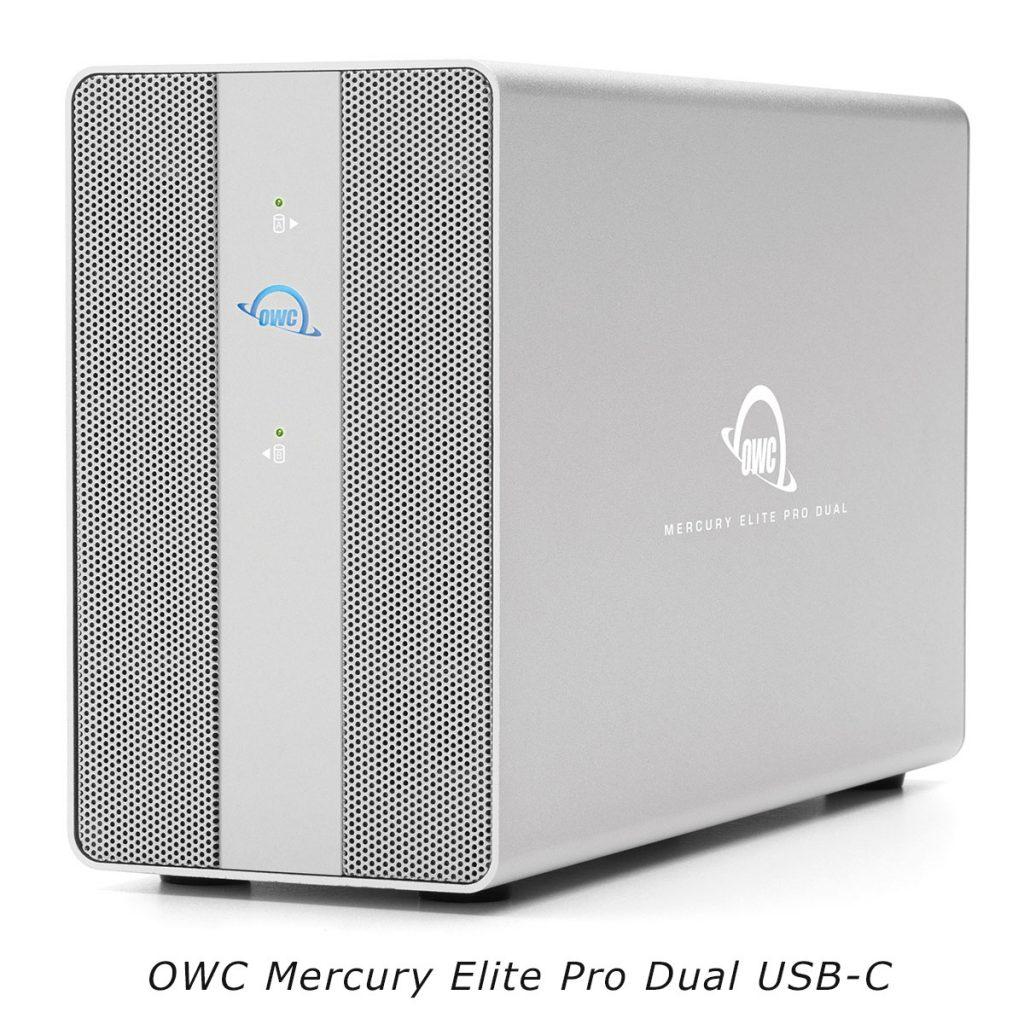 OWC Mercury Elite Pro Dual USB-C