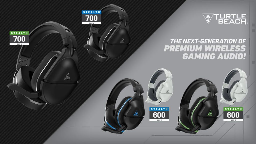 Turtle Beach Stealth & Roccat Elo Headsets