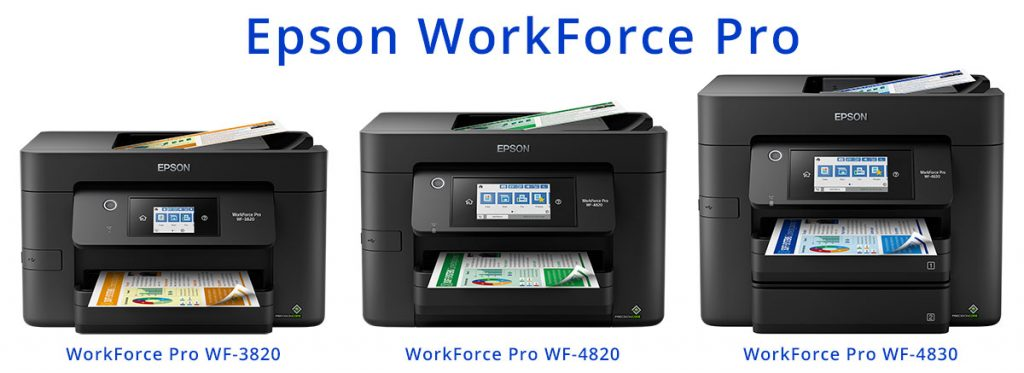 Epson WorkForce Pro - WF-3920, WF-4820, WF-4830
