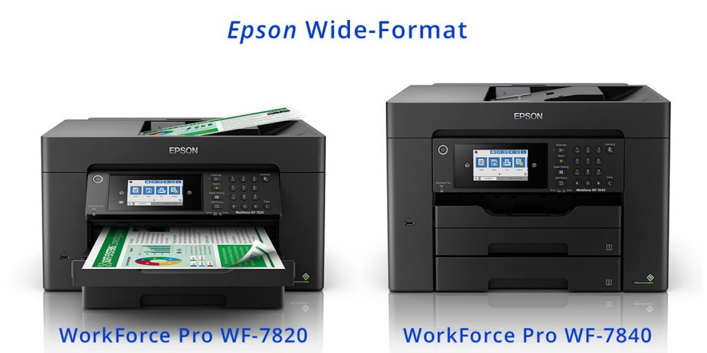 Epson WorkForce-Pro WF-7820, WF-7840 Wide-Format Printers