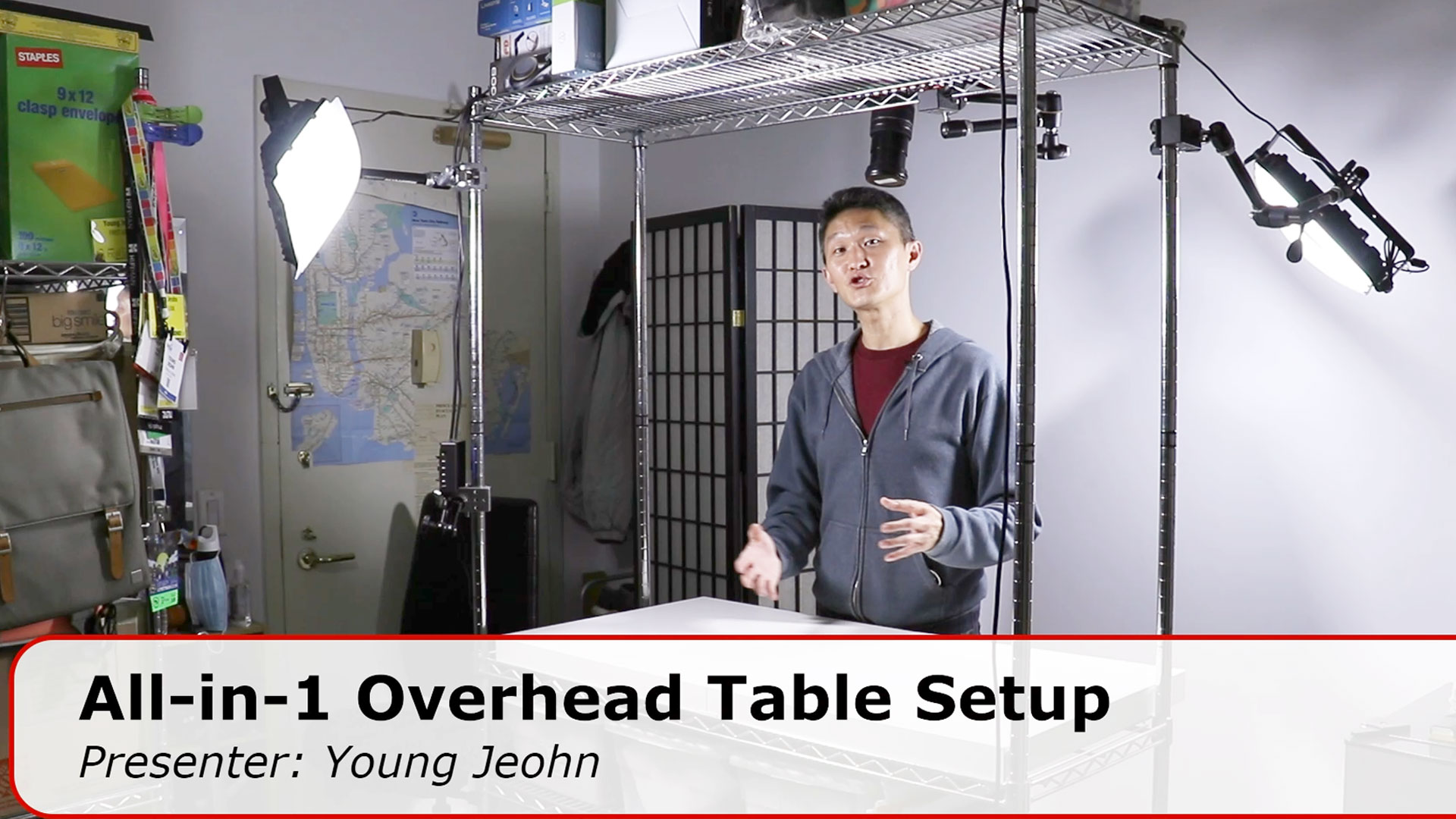 Overhead Video Table