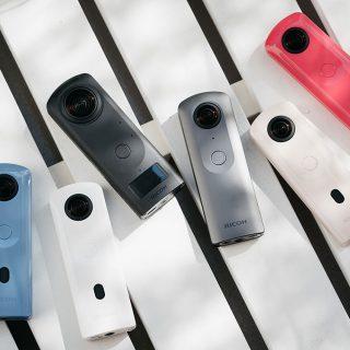 Ricoh Theta 360 cameras