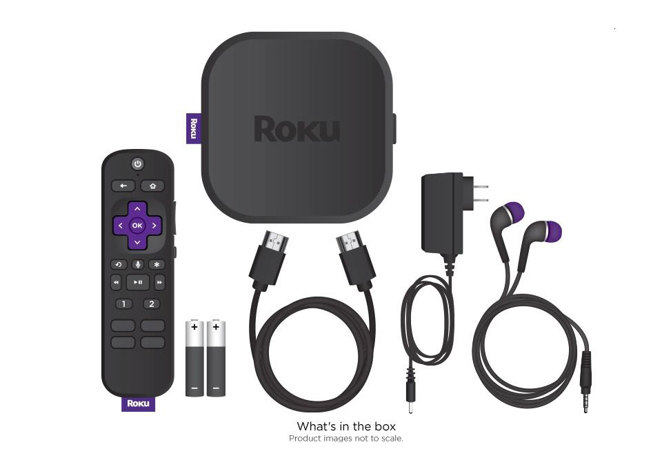 Roku Ultra - In the box