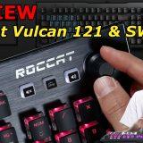 Roccat Vulcan 121 keyboard