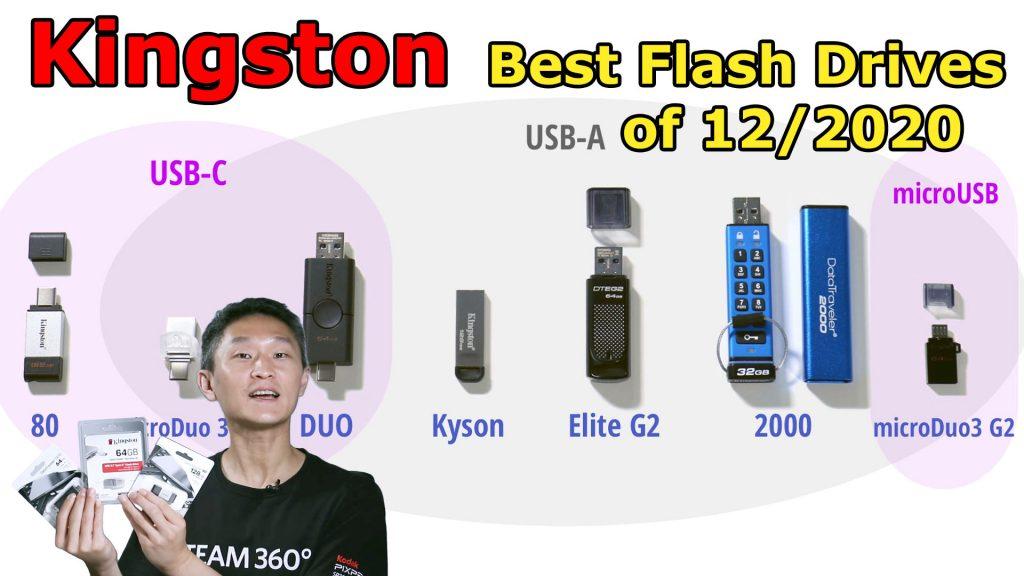 Kingston 2020 Flash Drives