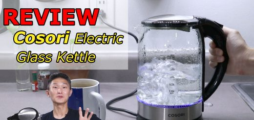 Cosori Electric Glass Kettle