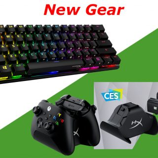 HyperX 60 keyboard and Xbox charger
