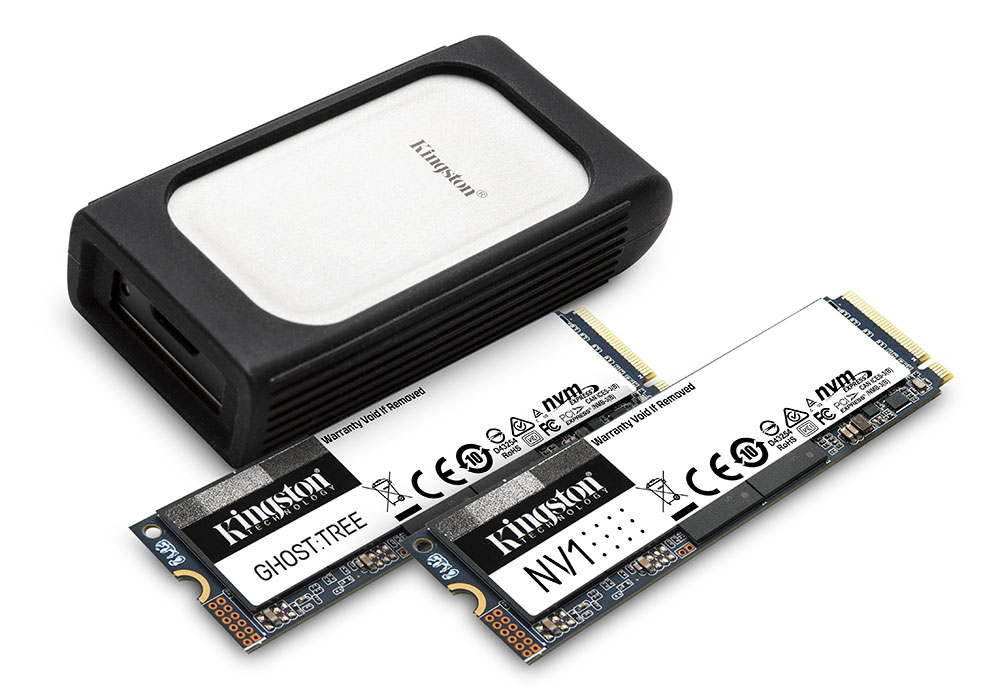 Kingston SSD Products 2021