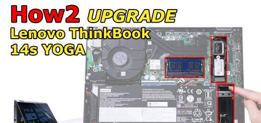 SSD upgrade Lenovo ThinkBook 14s Yoga
