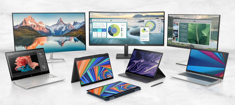 HP 2021 portfolio