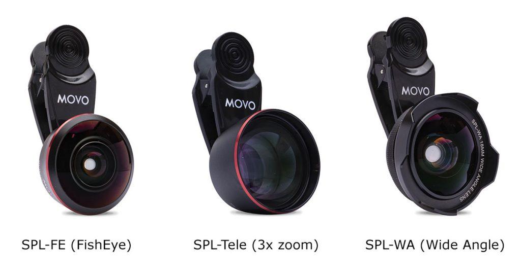 Movo SPL Lens series