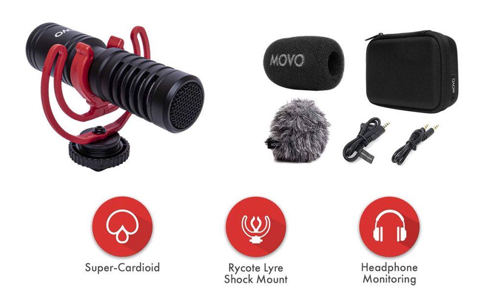 Movo VXR10-Pro mic