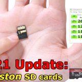 Kingston 2021 SD Cards