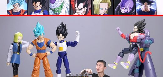 Bandai Dragonball Action Figures