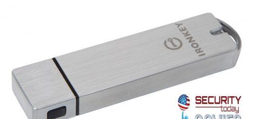 Kingston IronKey S1000 USB Drive Govies Award