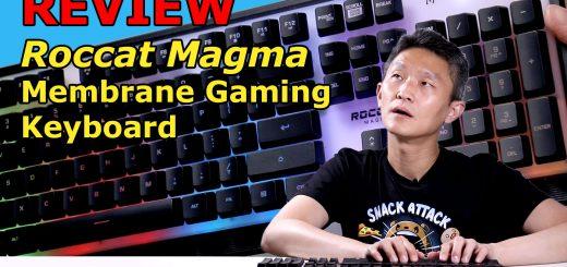 Roccat Magma - membrane gaming keyboard