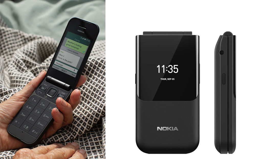 Nokia 2720 V Flip-Phone