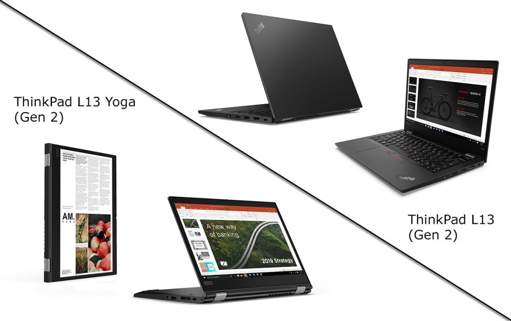 Lenovo Thinkpad L13 & L13 Yoga Gen2 Series