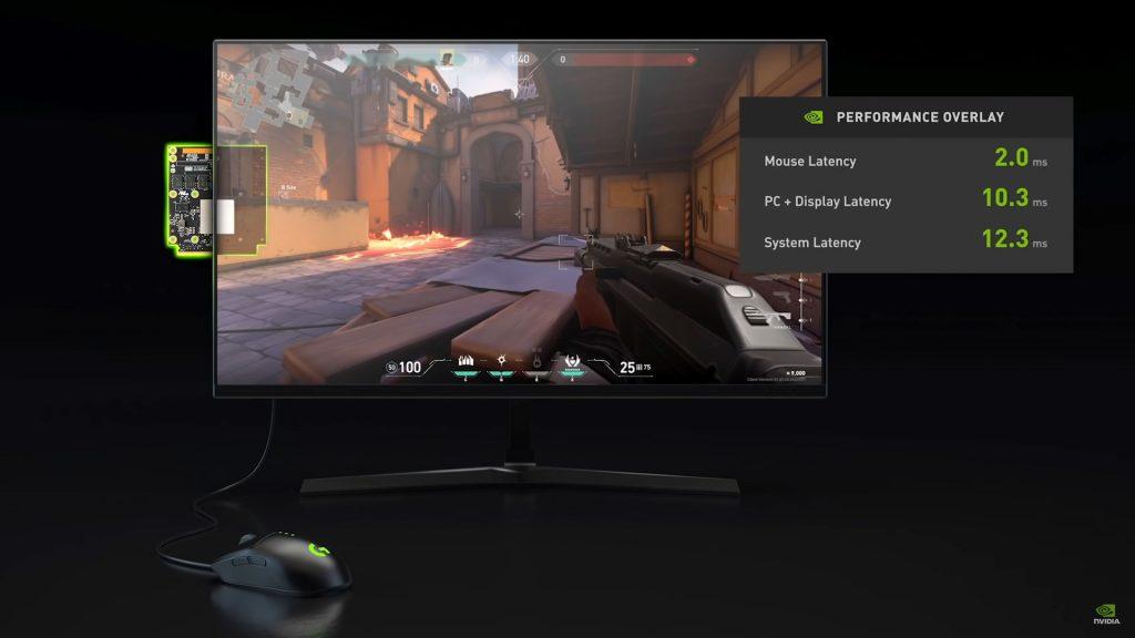Nvidia Reflex - Monitor Mouse